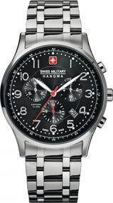 Hanowa Swiss Military Patriot 06-5187.04.007 Herrenchronograph Zeitloses Design