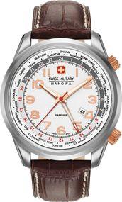 Hanowa Swiss Military WORLDTIMER 06-4293.04.001 Herrenarmbanduhr Swiss Made
