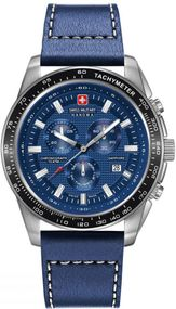 Hanowa Swiss Military CRUSADER CHRONO 06-4225.04.003 Herrenchronograph Massives Gehäuse