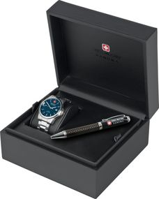 Hanowa Swiss Military SWISS RECRUIT PRIME GIFT SET 06-8010.04.003 Herrenarmbanduhr Sehr Sportlich