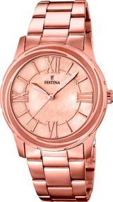 Festina Classic Ladies F16725/2 Damenarmbanduhr Klassisch schlicht