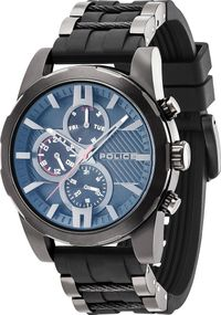 Police MATCHCORD PL.14541JSB/02PA Herrenchronograph Design Highlight