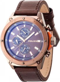 Police CONTACT PL.14537JSBN/12A Herrenchronograph Design Highlight