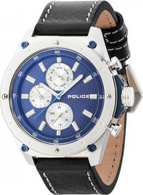 Police CONTACT PL.14537JS/03A Herrenchronograph Design Highlight