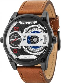 Police D-JAY PL14835JSB.02 Herrenchronograph Duale Anzeige