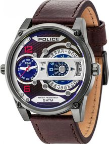 Police D-JAY PL14835JSU.12 Herrenchronograph Duale Anzeige
