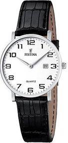 Festina Classic F16477/1 Damenarmbanduhr Klassisch schlicht