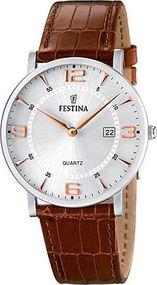 Festina Classic F16476/4 Herrenarmbanduhr Klassisch schlicht