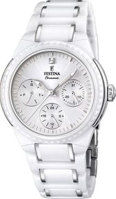 Festina Ceramic Collection F16699/1 Damenarmbanduhr Mit Keramikelementen