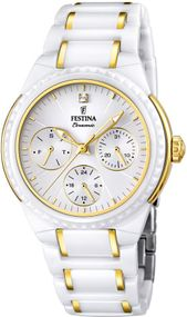 Festina Ceramic Collection F16699/2 Damenarmbanduhr Mit Keramikelementen