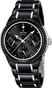 Festina Ceramic Collection F16699/4 Damenarmbanduhr Mit Keramikelementen