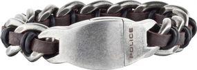 Police Jewelry SHOCK PJ.25600BSE/02 Herrenarmband Massiv gearbeitet