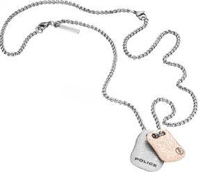 Police Jewelry EXCAVATION PJ.25560PSS/01 Halskette Figuranhänger