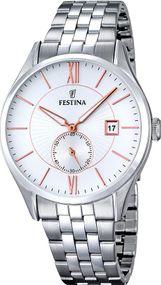 Festina Classic F16871/2 Herrenarmbanduhr Klassisch schlicht