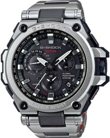 Casio G-Shock Exclusive Metal Twisted G-Shock MTG-G1000RS-1AER Herrenfunkuhr GPS Empfang f. Uhrzeit & Zeitzone
