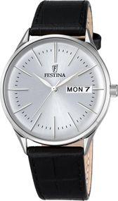 Festina Classic F6837/1 Herrenarmbanduhr Klassisch schlicht