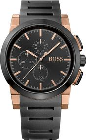 Boss Neo Chrono 1513030 Herrenchronograph Massives Gehäuse