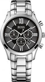 Boss Ambassador Round Chrono 1513196 Herrenchronograph Klassisch schlicht