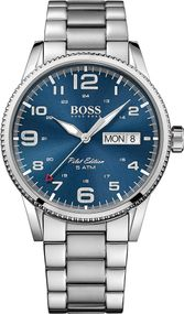 Boss PILOT 1513329 Herrenarmbanduhr Design Highlight