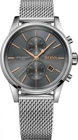 Boss JET Mesh 1513440 Herrenchronograph Design Highlight