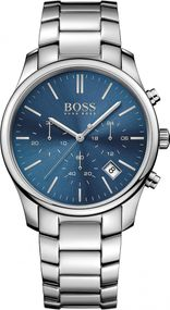 Boss TIME ONE 1513434 Herrenchronograph Massiv gearbeitet
