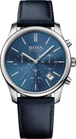 Boss TIME ONE 1513431 Herrenchronograph Massiv gearbeitet