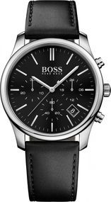 Boss TIME ONE 1513430 Herrenchronograph Massiv gearbeitet