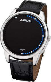 APUS Theta Silver Blue White AS-THT-SBW Unisex Digitaluhr Analoge Zeitanzeige