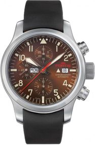 Fortis B-42 Aeromaster Dawn 656.10.18.K Herrenchronograph Sehr gut ablesbar