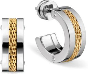 Bering Jewelry Ceramic Link 720-120-05 Ohrringe Design Highlight