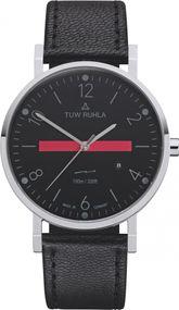 TUW Ruhla Thuringia Quartz 60140-021602B Herrenarmbanduhr Klassisch schlicht