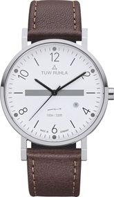 TUW Ruhla Thuringia Quartz 60140-031414D Herrenarmbanduhr Klassisch schlicht