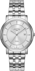 Roamer CLASSIC LINE GENTS 709856 41 17 70 Herrenarmbanduhr Swiss Made