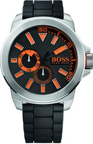 Boss Orange New York 1513011 Herrenarmbanduhr Massives Gehäuse