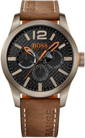 Boss Orange Paris 1513240 Herrenarmbanduhr Massives Gehäuse