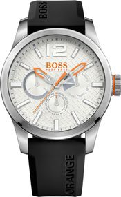 Boss Orange PARIS Multieye 1513453 Herrenarmbanduhr Massiv gearbeitet