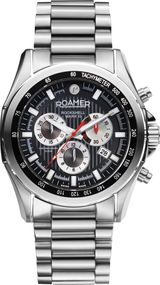 Roamer ROCKSHELL MARK III CHRONO 220837 41 55 20 Uhr Swiss Made