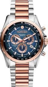 Roamer ROCKSHELL MARK III CHRONO 220837 49 45 20 Uhr Swiss Made