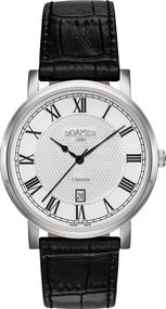 Roamer CLASSIC LINE GENTS 709856 41 22 07 Herrenarmbanduhr Swiss Made
