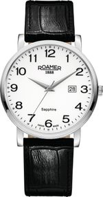 Roamer CLASSIC LINE GENTS 709856 41 26 07 Herrenarmbanduhr Swiss Made
