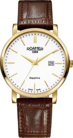 Roamer CLASSIC LINE GENTS 709856 48 25 07 Herrenarmbanduhr Swiss Made
