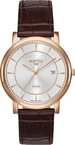 Roamer CLASSIC LINE GENTS 709856 49 17 07 Herrenarmbanduhr Swiss Made