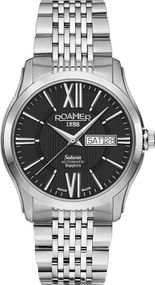 Roamer SATURN II GENTS 960637 41 53 90 Herren Automatikuhr Swiss Made