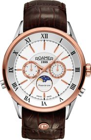 Roamer SUPERIOR MOONPHASE 508821 49 13 05 Herrenarmbanduhr Swiss Made