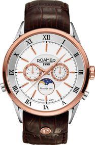 Roamer SUPERIOR MOONPHASE 508821 49 13 05 Herrenarmbanduhr Swiss Made