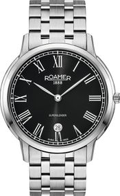 Roamer SUPERSLENDER GENTS 515810 41 52 50 Herrenarmbanduhr Swiss Made