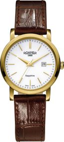 Roamer CLASSIC LINE GENTS 709844 48 25 07 Damenarmbanduhr Swiss Made