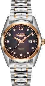 Roamer SEAROCK LADIES 34 MM 203844 49 59 20 Damenarmbanduhr Swiss Made