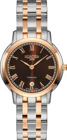 Roamer SUPERSLENDER LADIES 515811 49 05 50 Damenarmbanduhr Swiss Made
