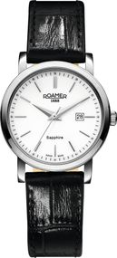 Roamer CLASSIC LINE LADIES 709844 41 25 07 Damenarmbanduhr Swiss Made